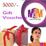 M&M - Guntur Gift Voucher - Rs.5000/-