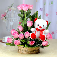 Roses&teddy Gifts to Vijayawada