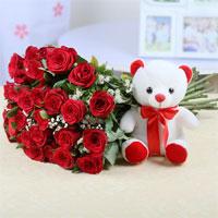 Roses&teddy