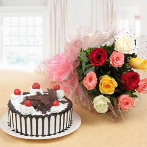 Cake N flowers