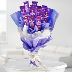 Dairy Milk Bouquet to Rajahmundry