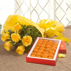 The color yellow signifies happiness and cheerful. You can brighten up your special