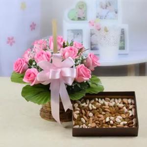 Flowers N Dry fruits