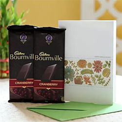 Bournville Cranberry Greetings