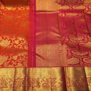 Gesf1549 Kanchi Pattu Saree Kanchipattu Sarees Gifts