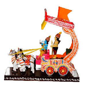 Krishna & Arjuna
