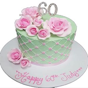 personalise fondant cake