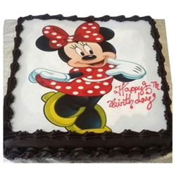 Mickey Mouse Photo cake to Rajahmundry