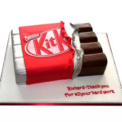 Kit Kat Shaped Cake 2kg to Kakinada