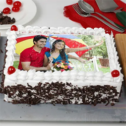 Personalized Photo Cake 1.5kg to Vizag