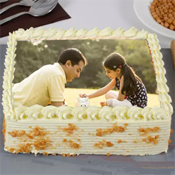 Personalized Photo Cake 1.5 to Kakinada