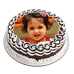 1kg Chocolate Photo Cake to Vizag