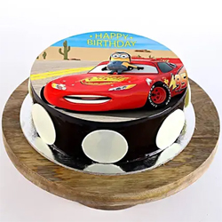 1kg McQueen Photo Cake to Vizag