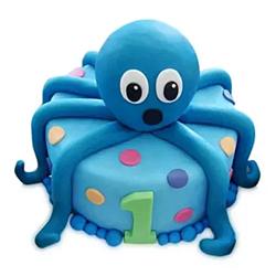 2kg Octopus Cake  to Kakinada