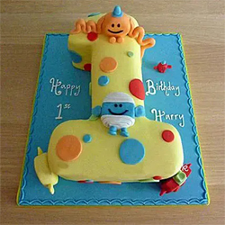 Happy Birthday Toddler Cake 2Kg  to Vizag