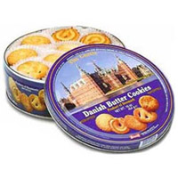 Send this box of Danish Butter Cookies (400gm) to your friends & family in India