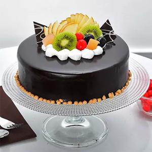 Cho&Fruit Cake