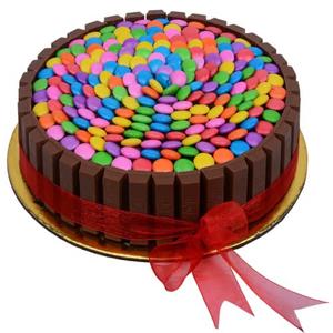 Chocolate Gems Cake 1kg