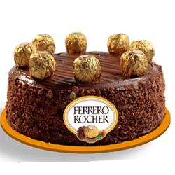 Ferrero rocher cake 1kg  to Rajahmundry