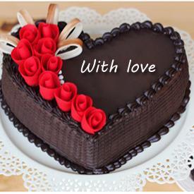 Chocolate  Heart 1kg
