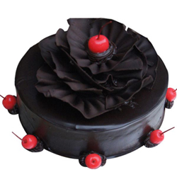 Rich Chocolate Truffle Cake 2kg  to Vizag