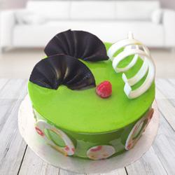 Lovely Kiwi Cake 2kg  to Rajahmundry