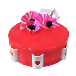 strawberry Cake 2kg  to Kakinada