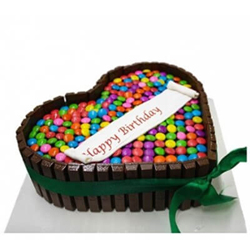 chocolate Gems Cake 1.5kg   to Vizag