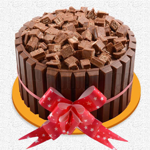 Kitkat chocolate cake 1.5kg to Kakinada