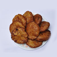 Burelu : A popular dish of Andhra is Boorelu - 1kg- served on south Indian festivals and occasions.