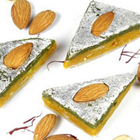 Dry Fruit Burfi - 500 gm