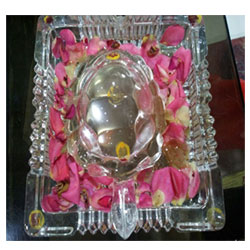 Luck Glass Tortoise Auspicious Work Table Desk<br>  8 inch height approx. Delivery lead time 2 to 3 working days