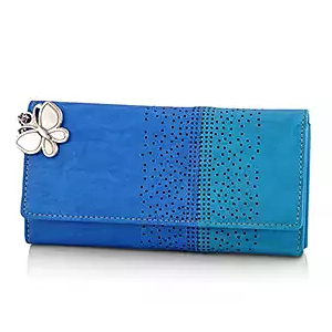 Beautiful Blue Wallet