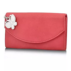 Voguish Red Wallet