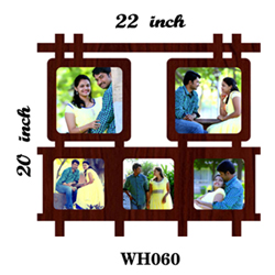 Couple photo frame