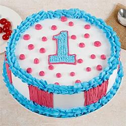 Vanilla Cake Half Kg