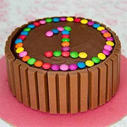 Super Kit Kat Cake 1/2kg