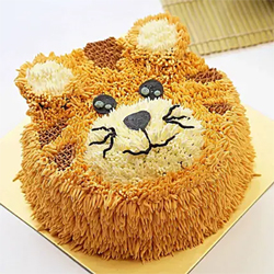 Tiger Designer cake 1.5 kg