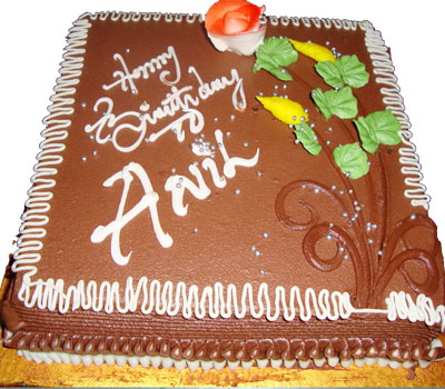 Butter Cream Cake - Chocolate