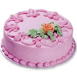 Butter Cream Cake - Strawberry