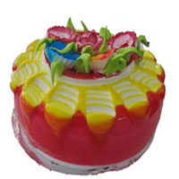 Premium Strawberry cake  to Vizag