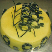 Premium Butter Scotch cake  to Vijayawada