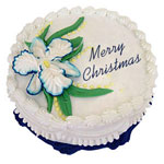 Christmas Cake - Eggless