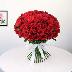 Bunch of 50 Roses  to kakinada