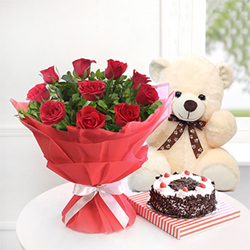 Flowers n Soft toy  to Rajahmundry
