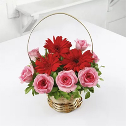 Mixed Flower basket  to Vizag