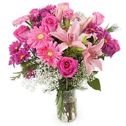 magical lily floral arrangement