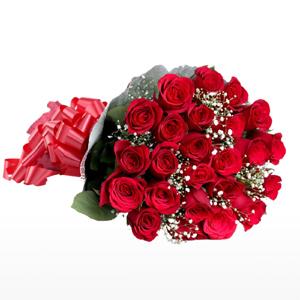 24 red roses to Kakinada
