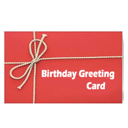 Birthday card  regular