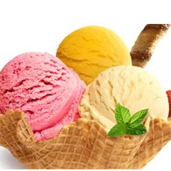 Ice cream Strawberry family pack - 700 ml + Pineapple Supreme- 750 ml